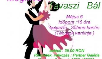 Meghívó - TAVASZI BÁL