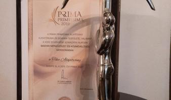 Prima-díjat nyert a szamosújvári Téka Alapítvány