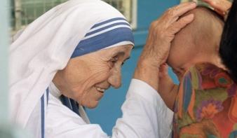 Szeptember 4-én avatják szentté Teréz anyát
