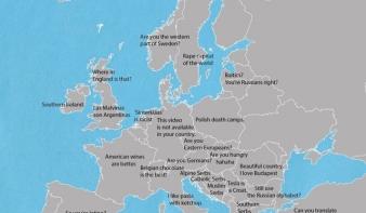 Így kergetheti őrületbe Európa népeit egyetlen mondattal - térkép