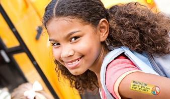 Tetkóval védik az allergiás gyerekeket