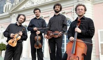 Ismét Nagybányán a Tiberius Kvartett