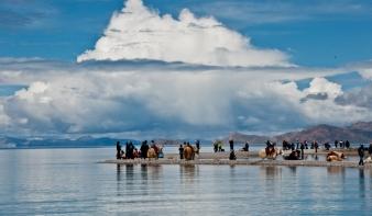 Elvesztette elsőségét Tibet eddigi legnagyobb tava