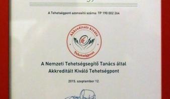 Akkreditált kiváló tehetségpont lett a Teleki Magyar Ház