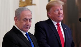 Trump előállt a független Palesztina tervével