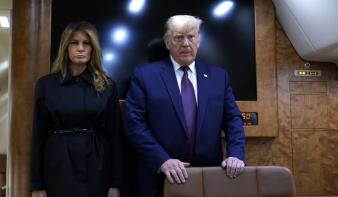 Pozitív lett Donald Trump és felesége vírustesztje