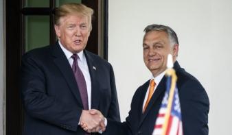 Trump állítólag azt mondta Orbánnak, hogy úgy érzi, mintha ikrek volnának