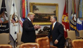 Donald Trump: Orbán Viktor nagyszerű munkát végzett