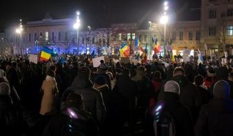 Csütörtökön is országszerte folytatódtak a tüntetések a Btk.-módosítás miatt