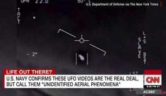 A Pentagon hivatalosan kiadja az UFO-videókat