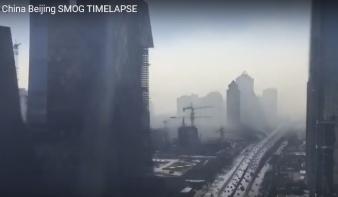 Kísérteties videó: így végez a szmog Pekinggel