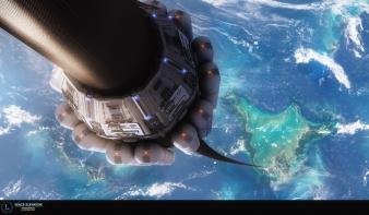 Egyetlen atom miatt bukik az űrlift ötlete