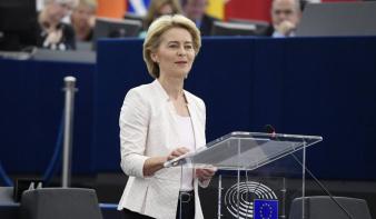 Új biztosjelöltek nevesítését kéri Romániától és Magyarországtól Ursula von der Leyen