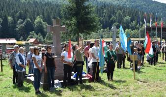 A járvány nem akadály: idén is megemlékeztek az Úz-völgyi harcok áldozatairól