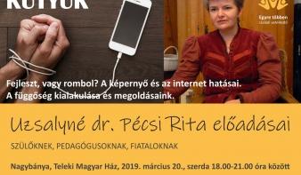 Uzsayné dr. Pécsi Rita előadás - Kütyük