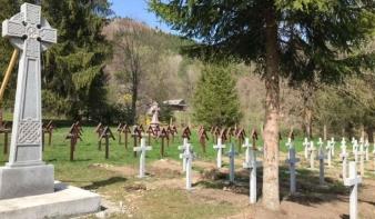 Magyar katonai temetőt nyúlnának le Hargita és Bákó megye vitatott határán