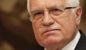 Václav Klaus: Európa a felelős az illegális bevándorlásért