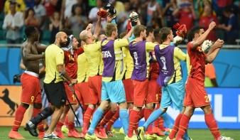 A világbajnokság legjobb meccsét Belgium nyerte