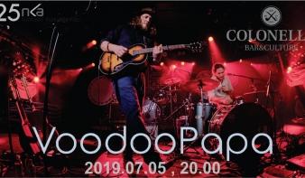 VooDoo Papa Duo koncert a Colonellóban