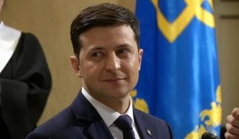 Humoristára szavaztak a legtöbben az ukrán elnökválasztáson