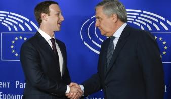 Zuckerberg vallomást tett Brüsszelben