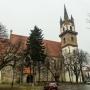 Uniós forrásokból újítják fel Beszterce evangélikus templomát