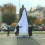 Felavatták Bethlen Gábor szobrát Marosvásárhelyen