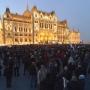 A költségvetés ellen tüntettek Budapesten