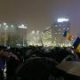 Vasárnap este is volt tüntetés a kormánypalota előtt