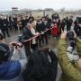 Megnyílt a tíz új átkelő a magyar-román határon