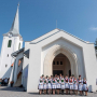 Felavatták Mezőpanit új református templomát