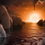 Elméletileg lakható naprendszert fedezett fel a NASA