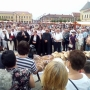 Augusztus 20.: először volt szabadtéri kenyéráldás Váradon – Szoboravatás Kézdiszentléleken