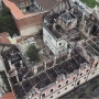 Rövidzárlat miatt éghetett le a nagyváradi görögkatolikus püspöki palota