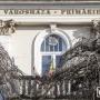 Befellegzett a csíkszeredai Városháza feliratnak