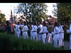 FF2011 - Lovasíjász bemutató és bevonulás a főtérre