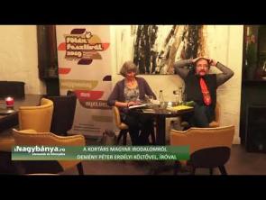 A kortárs magyar irodalomról Demény Péter erdélyi költővel, íróval